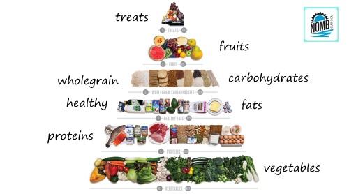 Sport Diet Nutrition Pyramid