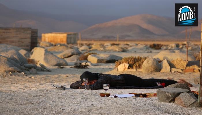 Siesta in the desert