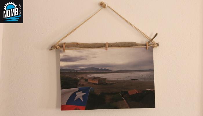 Photo hanger driftwood