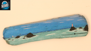 Homemade driftwood art