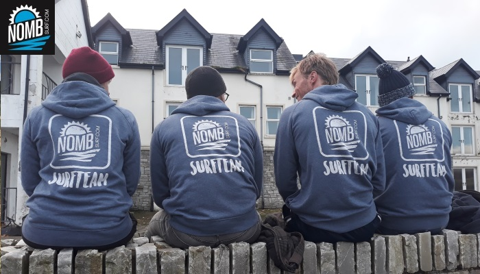 A great team surfed around Northwest Ireland on our recent trip IRELAND INTENSE