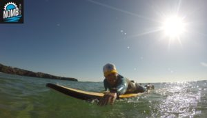 A NOMB Surfer on one of our surfcoaching trips