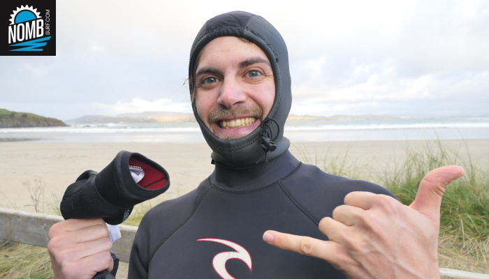 Stoked NOMB Surfer on #IconicIrleand 2019