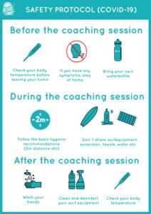 COVID-10 Safety Guidelines for our surfcoachings