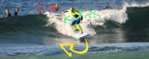 Learn how to turn and improve your surfing with online surf coaching