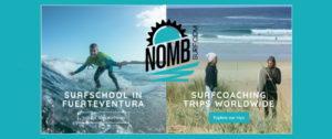 Brand new NOMB Surf website