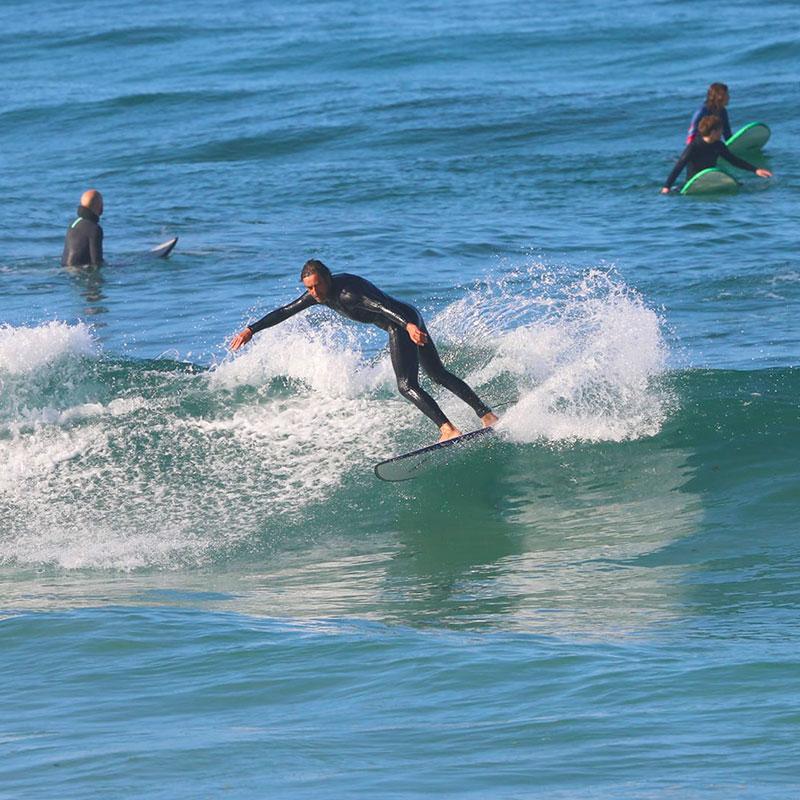 NOMB Surfer Ramon making a cutback
