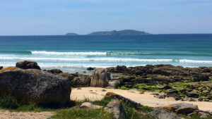 One of our most frequented surfspots in Galicia